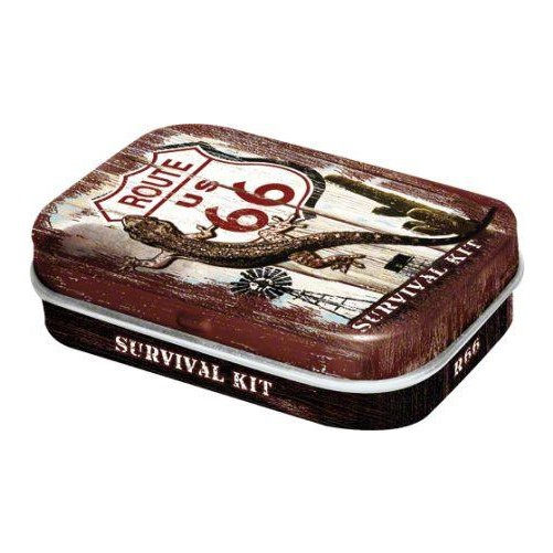 Peppemint box Route 66 survival kit