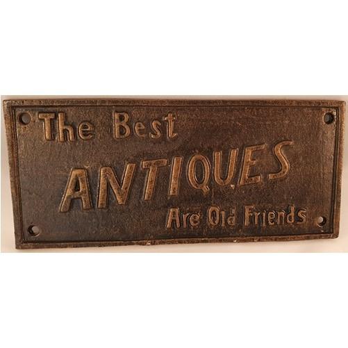Decoratieve gietijzeren muur of deurplaat : Best Antiques