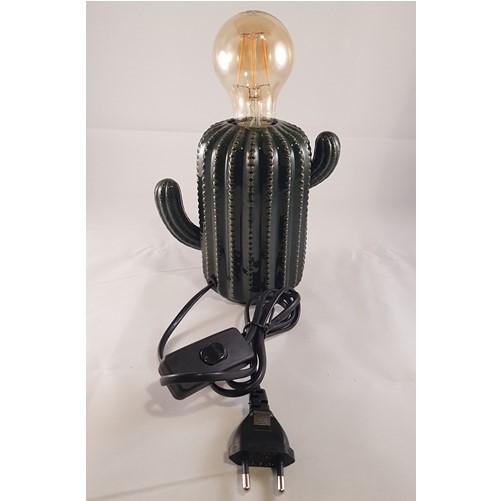 Cactuslamp van keramiek
