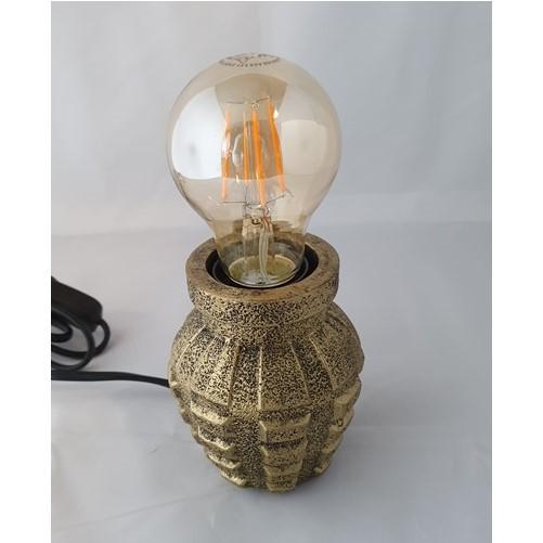 Handgranaat tafellamp