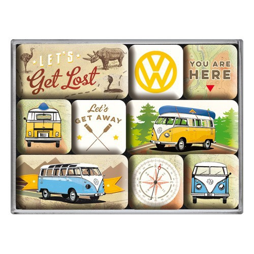 Magneetset VW Let's Get lost