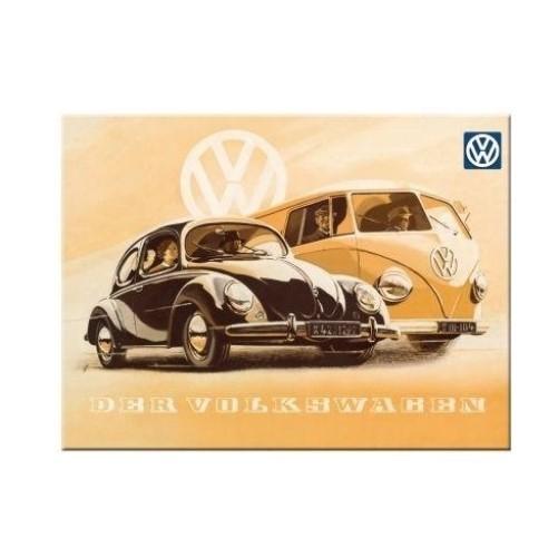 Magneet VW Kever en Bus