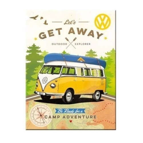 Magneet VW  Let's get a way