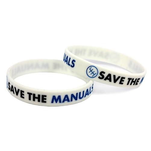 Armband Save the Manuals