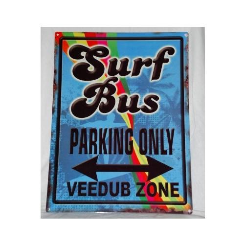 Muurplaat Surf bus
