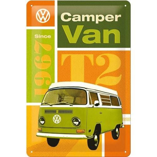Muurplaat Volkswagen T2