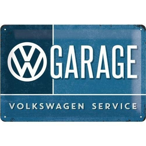 Muurplaat VW Garage
