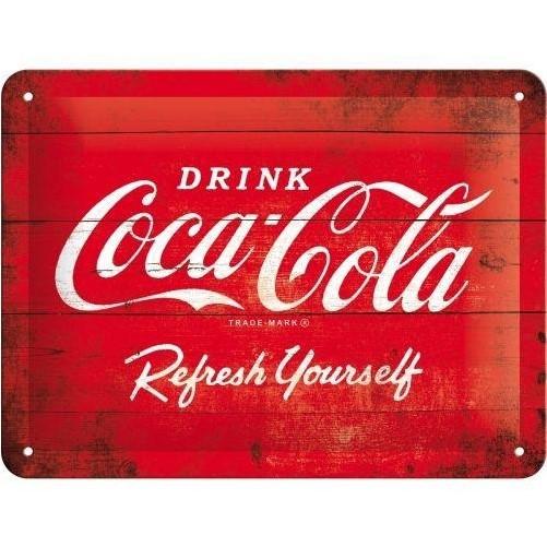 Muurplaat Coca Cola