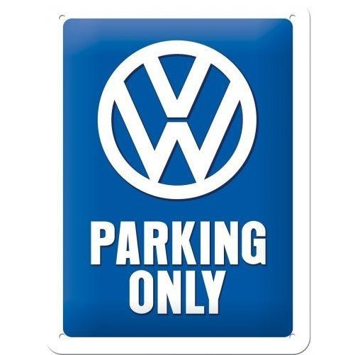 Muurplaat VW Parking Only