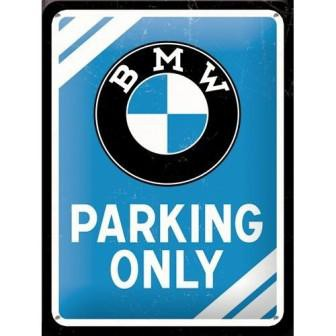 Muurplaat BMW Parking Only