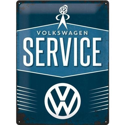 Muurplaat VW Service