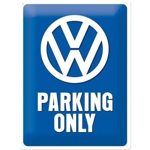 Muurplaat VW Parking Only