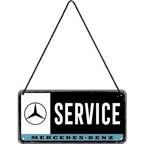 Hanging sign  Mercedes Service