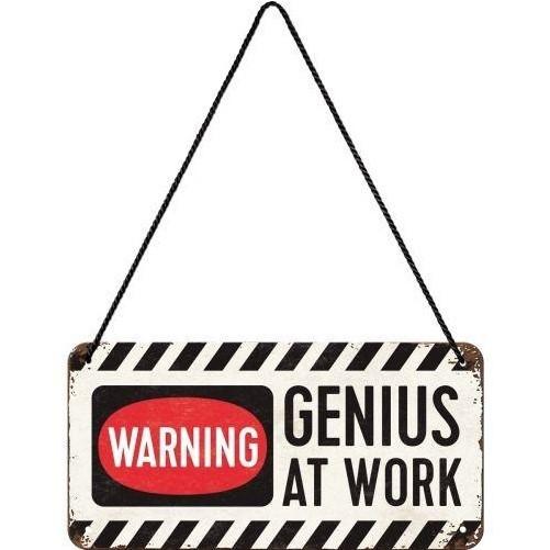 Hanging sign  Warning