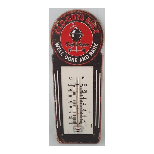 "Thermometer ""  Old Guys Rule """