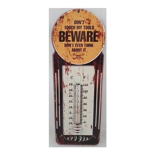 "Thermometer ""  Beware """