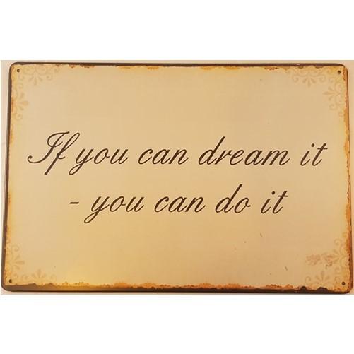 Muurplaat Dream
