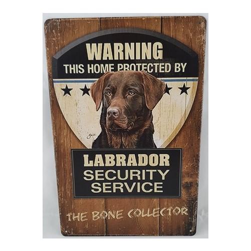 Muurplaat Labrador Security