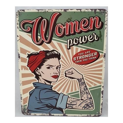 Muurplaat  Women Power