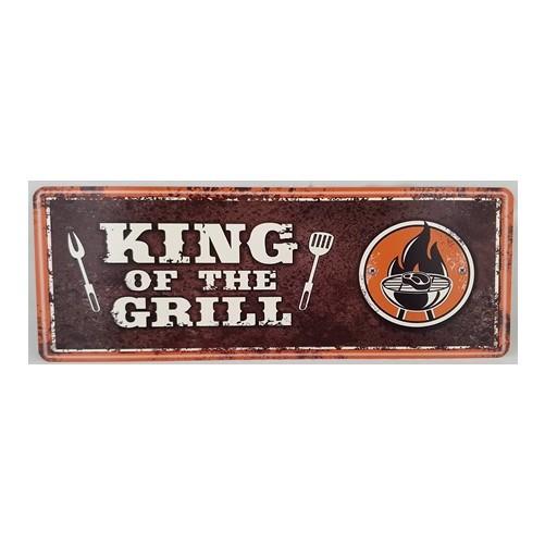 Muurplaat  King of the grill