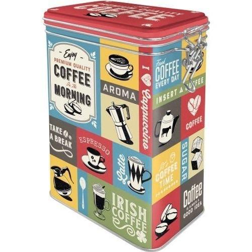 Voorraadblik  Coffee collage